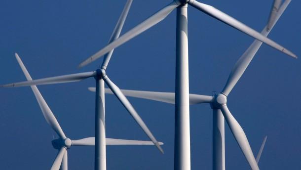 Rhein-Main-Region als großer Windpark