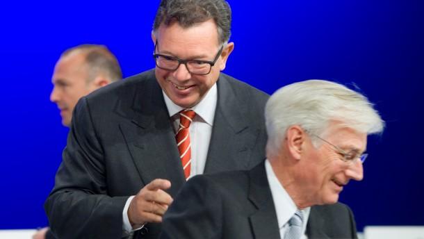 Durch die Fusion wird Frankfurt global wichtig