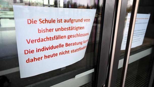 Zahl der Coronavirus-Infizierten in Hessen stabil