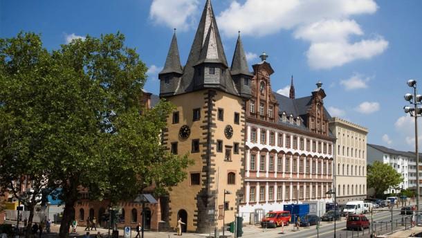 Historisches Museum - Eröffnung der sanierten Altbauten am Frankfurter Mainufer