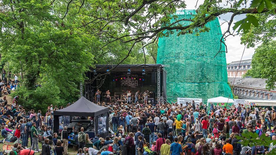 Festival-Spaß vor Corona: Im Jahr 2019 war das Open-Ohr-Festival gut besucht.