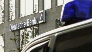 Möglicher Anschlag auf Deutsche Bank