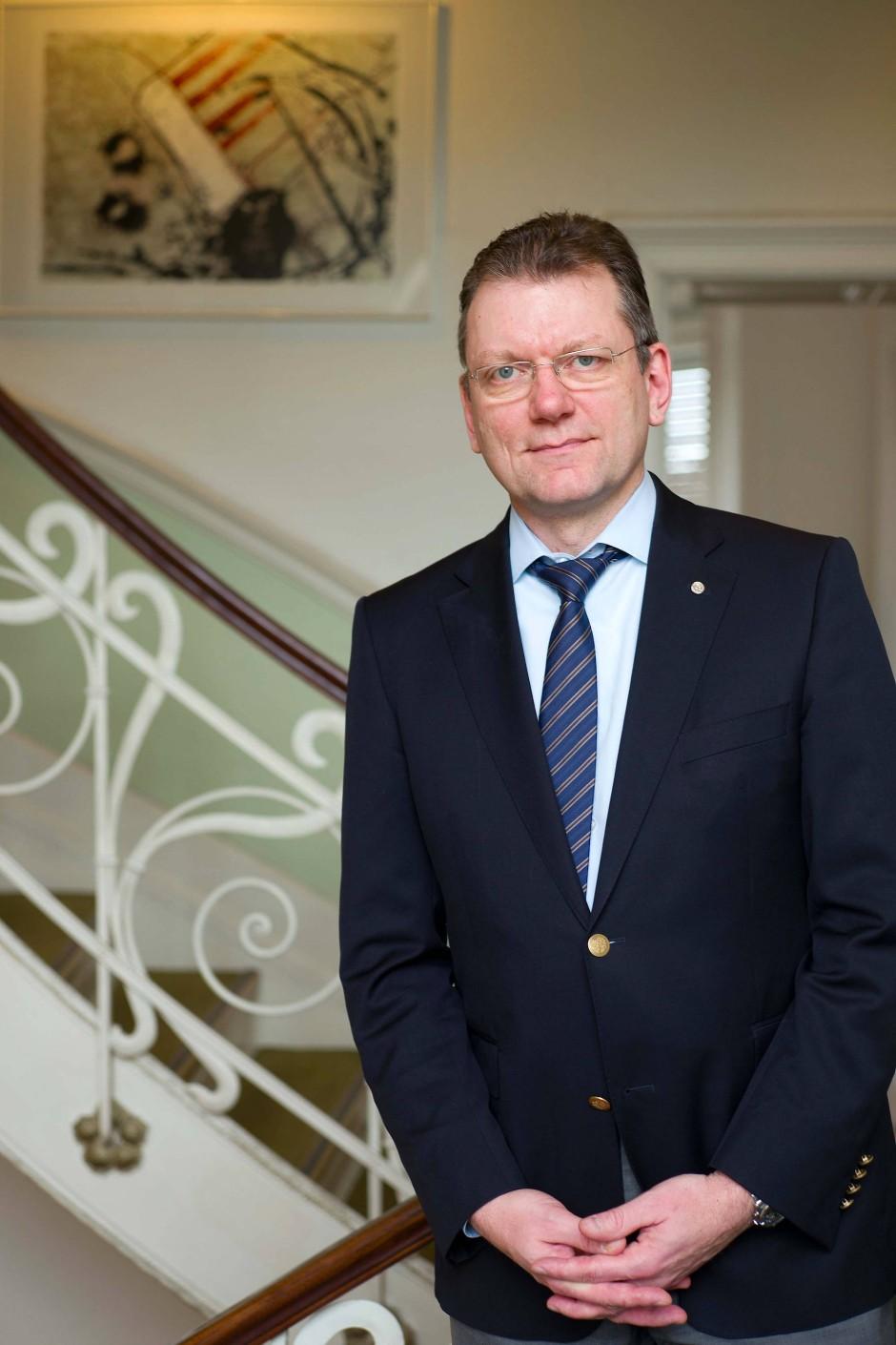 Vertritt Eigentümer: Der Rechtsanwalt Christian Streim ist Landesvorsitzender der Hausbesitzergemeinschaft Haus und Grund.