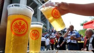 Zehn Millionen Becher Bier für 13 Millionen Besucher