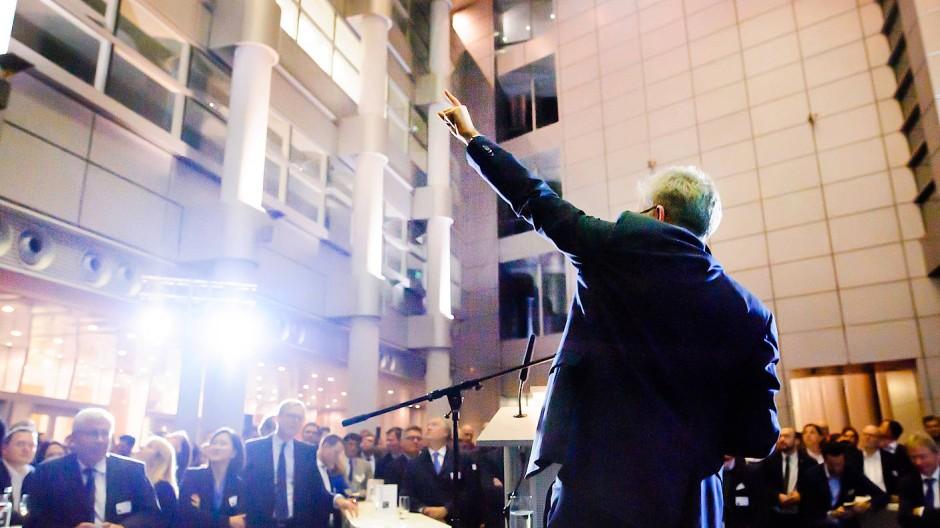 Fingerzeig: Hessen versucht Gründern, etwa mit dem Techquartier in Frankfurt zu helfen