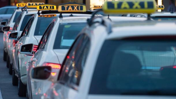 Geldstrafe für Taxifahrer