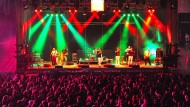Schlossgrabenfest 2016: Die Reggae-Band Cashma Hoody sorgte für gute Stimmung - sogenannte Antänzer belästigten dagegen Frauen sexuell