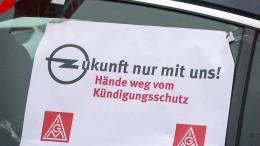 """Belegschaft von Opel-Partner fühlt sich """"zum zweiten Mal verraten"""""""