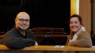 Nach Frankfurt, der Kleinkunst wegen: Michael Glebocki und Dorothée Arden in der Naxoshalle.