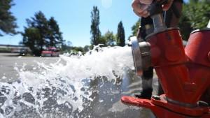 Wasserverbrauch steigt auf Rekordhöhe