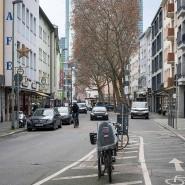 """""""Eine normale Stadtstraße"""": Die Töngesgasse hat mit ihrer Vielfalt für Christoph Mäckler Vorbildcharakter."""