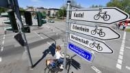 Mehr Platz für Radfahrer: Wiesbaden will den Anteil des Radverkehrs auf zehn Prozent steigern.