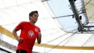Dauerläufer, Stratege, Spielgestalter: Makoto Hasebe ist seit Jahren einer der besten und verlässlichsten Eintracht-Profis.