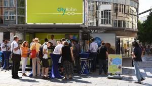 Wiesbadener Unternehmerschaft gegen City-Bahn