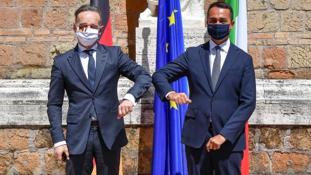 Wie Heiko Maas um italienisches Vertrauen kämpft