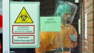 Uniklinik Frankfurt schließt Ebola-Ansteckung aus