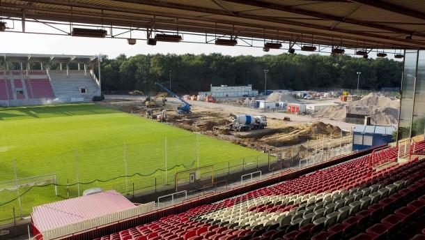 Offenbach kickers stadion wird doch teurer kickers for Depot offenbach