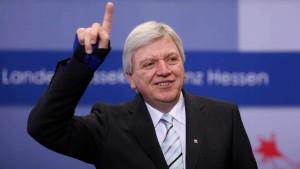 Hessische CDU plant für Doppelwahl