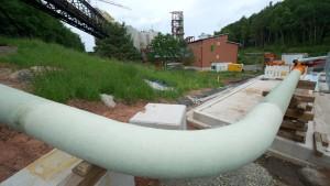 Salzlauge-Pipeline zur Nordsee weiter umstritten
