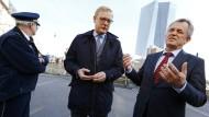 Stadt markiert Puffer um EZB-Sicherheitszone