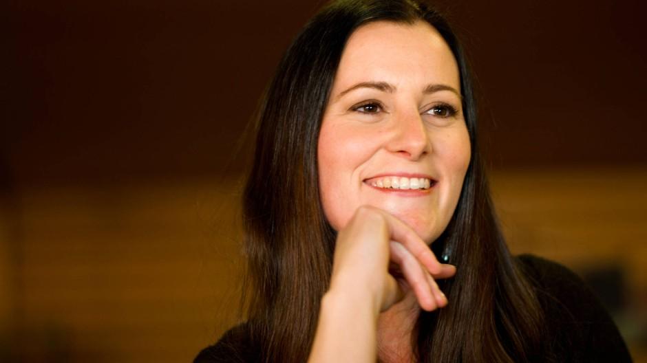 Das Gesicht der Linken im Landtag: Janine Wissler