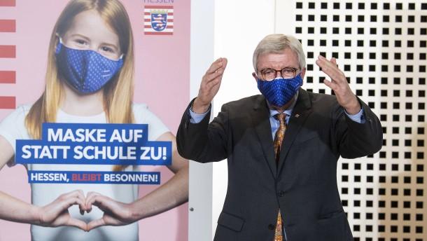 """Bouffier sieht """"nationalen Gesundheitsnotstand"""""""