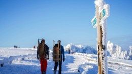 Das Winterwunderland macht seine Tore zu