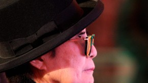 Verleihung Hildebrandt-Medallie an Yoko Ono