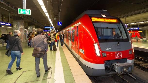 S Bahnen Frankfurt