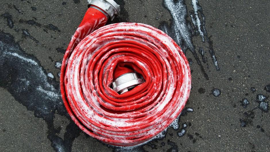 Einsatz: Feuerwehrleute mussten wegen eines Küchenbrands in Heusenstamm ausrücken