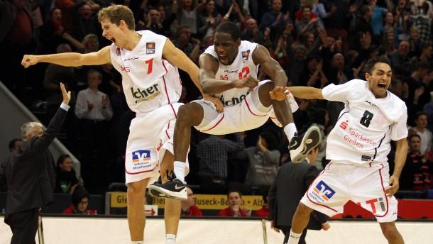 Basketball BBL, Giessen 46ers - rathiopharm Ulm