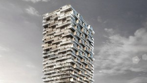 Auf dem Kulturcampus entsteht ein Hybridturm