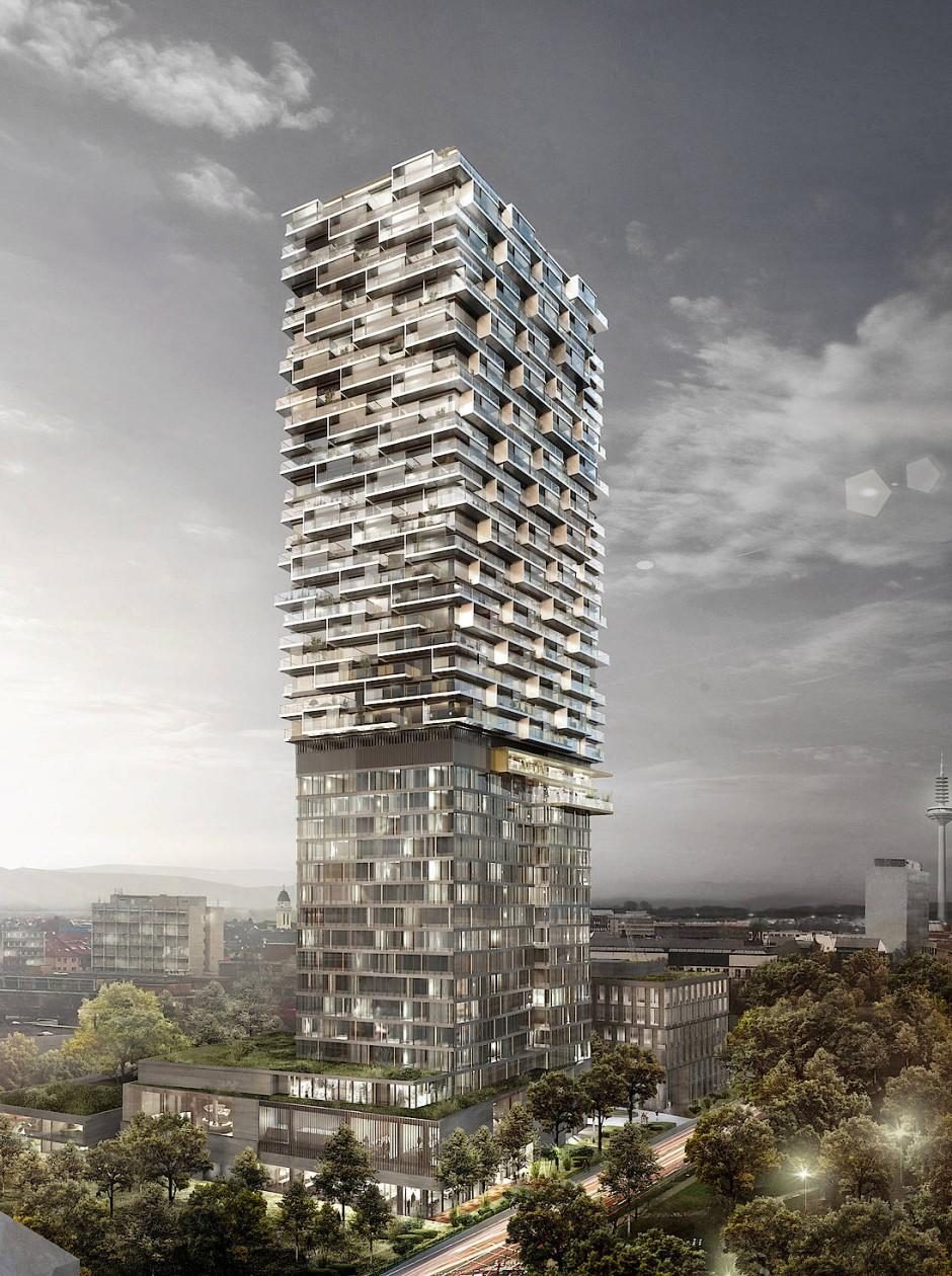 Bild zu hybridturm entsteht auf dem frankfurter kulturcampus bild 1 von 1 faz - Mobel 0 prozent finanzierung ...