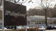 Firmensitz: Die Textilfabrik J. Philipp aus Hanau hat Insolvenz angemeldet.
