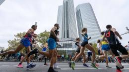 Frankfurt-Marathon fällt auch 2021 aus