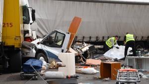 Lastwagenfahrer: keine Erinnerung an tödlichen Unfall