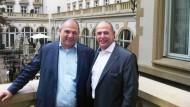 Erfolgsgespann: Paschalis Choulidis und Vlasios Choulidis von der Drillisch AG