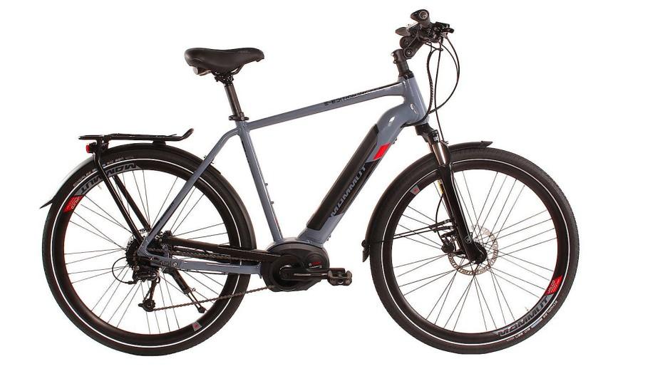 """Schnell und modisch grau: das Fahrrad """"Mammut Edition Power"""""""