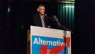 Wiederholungsfall: Auch Peter Münch, Sprecher des hessischen Landesverbands der AfD, muss sich wohl nochmal zur Wahl stellen