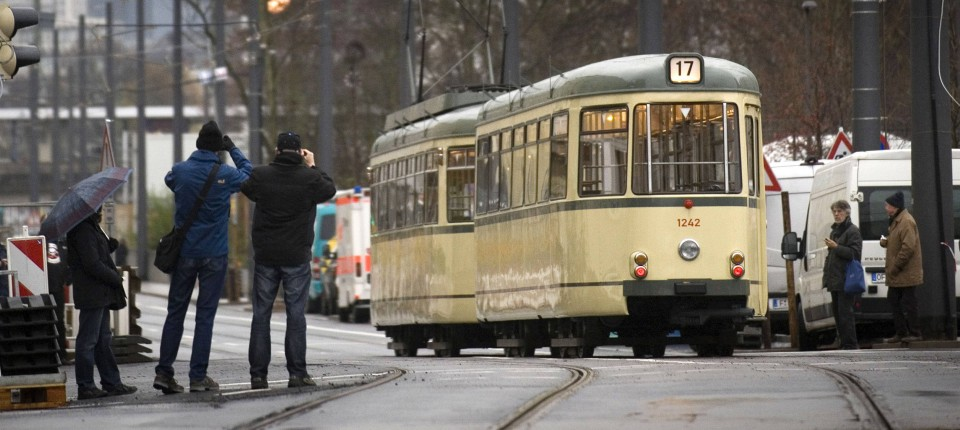 Tramlinie 17 In Frankfurt Endlich Ist Die Lücke Geschlossen
