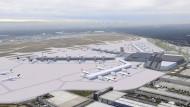Al-Wazir: Fraport-Prognose zu Terminal 3 überprüfen