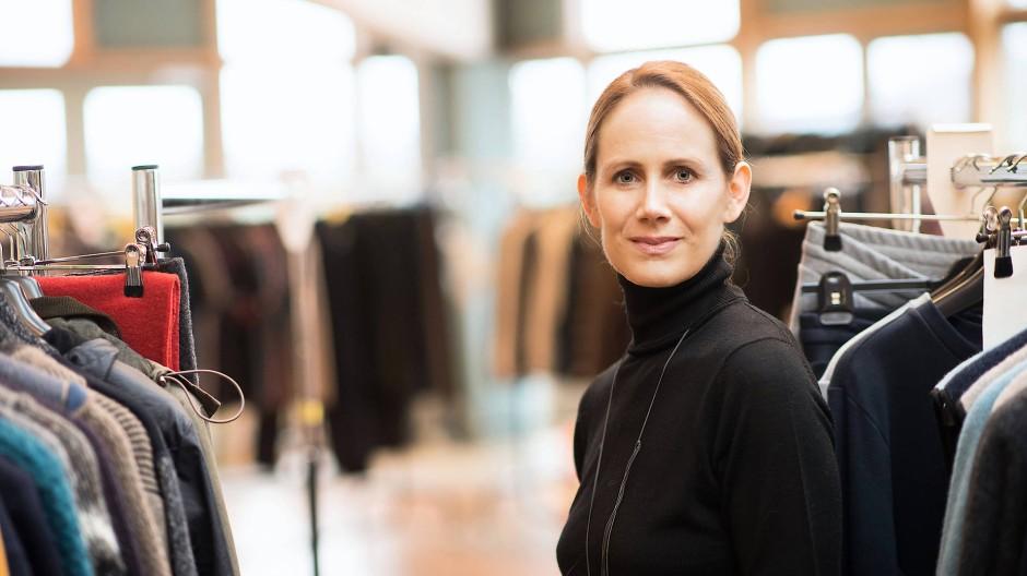 Händlerin: Andrea Ebinger führt den Ökomode-Anbieter Hess Natur aus Butzbach