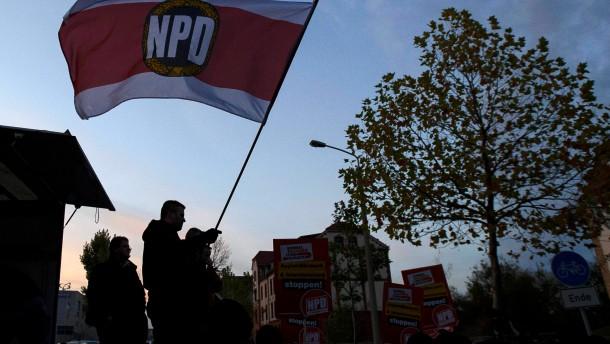 NPD will gegen Demonstrationsverbot klagen