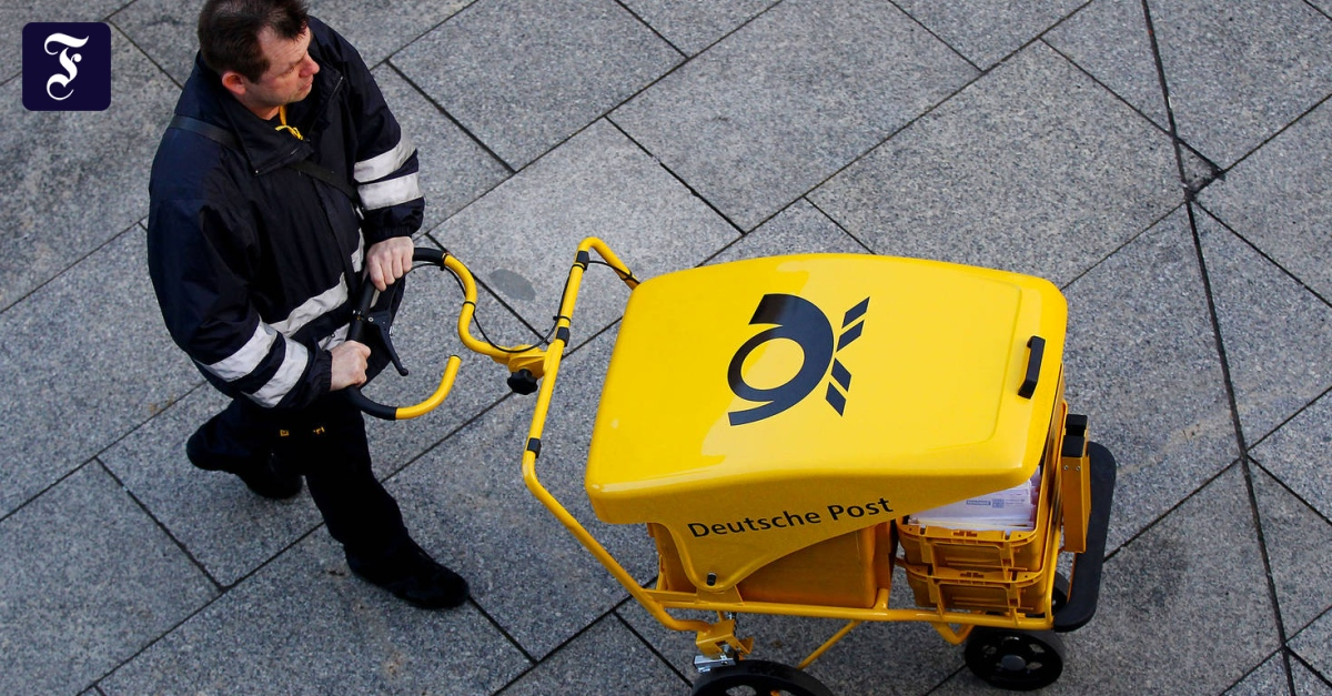 Deutsche Post - Verdi ruft Zusteller in Hessen zum Streik auf