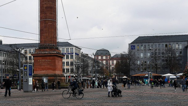 Darmstadt schließt Verwaltungsgebäude