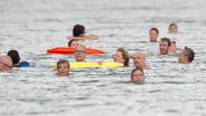 Treiben lassen im längsten Becken Deutschlands