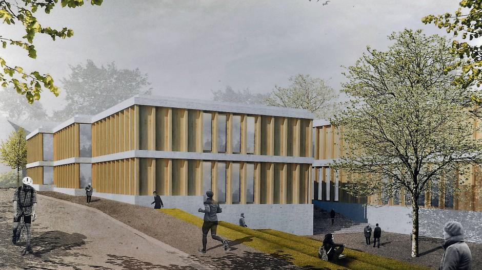 Wichtiger Baustein für den Geisenheimer Campus: Siegerentwurf der Architekten Bez und Kock für das neue Getränketechnologische Zentrum