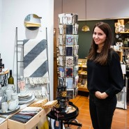 Handverlesene Stücke: Meike Fiedler-Hermann in ihrem Laden Noord in Frankfurt