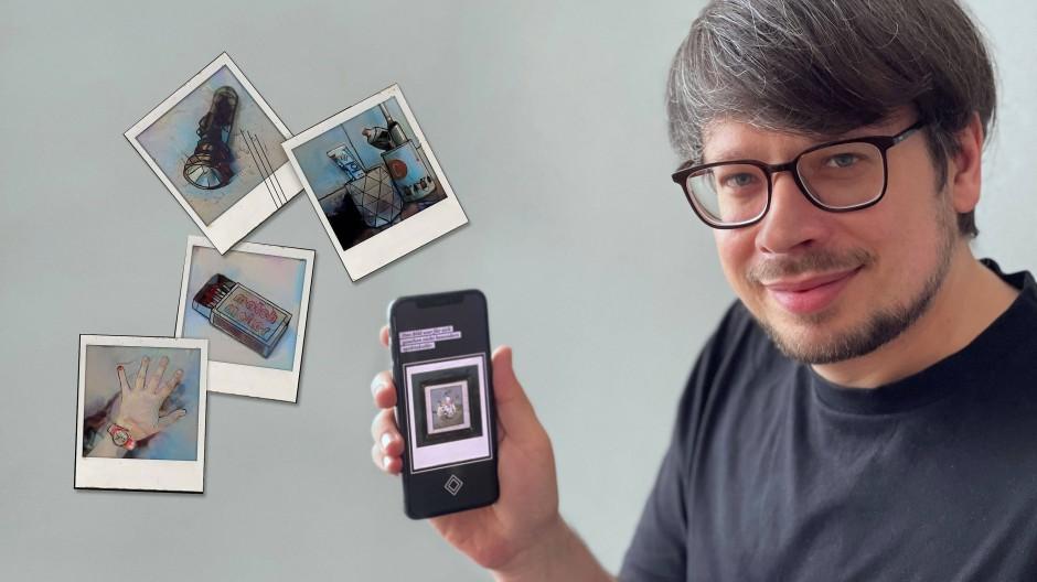 "Spiel mit Fotos: Marcel- André Casasola Merkle hat ""Polarized""konzipiert."
