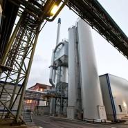 Vorbild für Griesheim: Die Braunkohlestaub-Anlage in Frankfurt-Fechenheim, die ohne Schadstofffilter auskommt